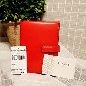 Lodis Poppy Passport Wallet with Ticket Flap